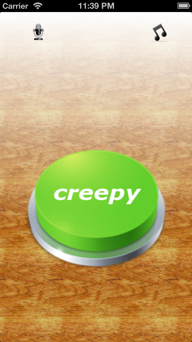 Creepy Button